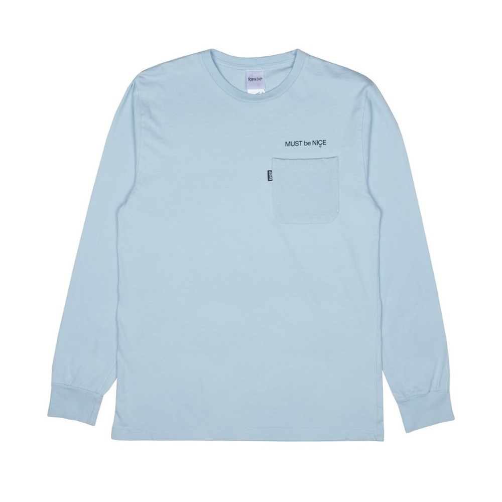 Лонгслив RIPNDIP Mother L/S baby blue