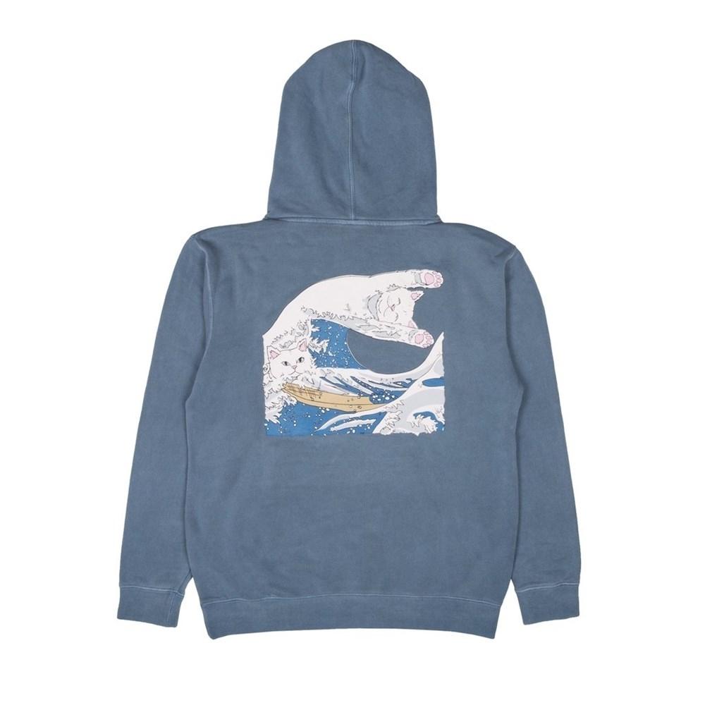 Толстовка RIPNDIP Great Wave Of Nerm Pullover Sweater baby blue