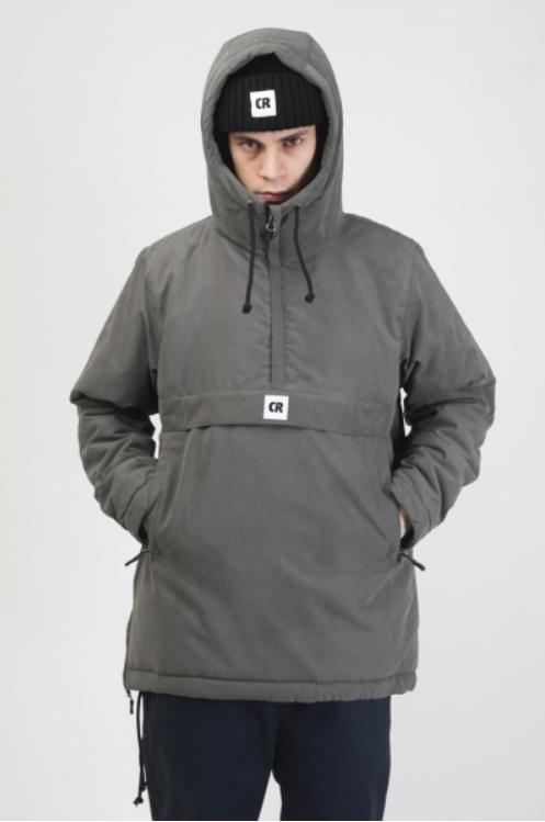 Куртка-Анорак зимняя Chrome 3 Серый Темный Микрофибра
