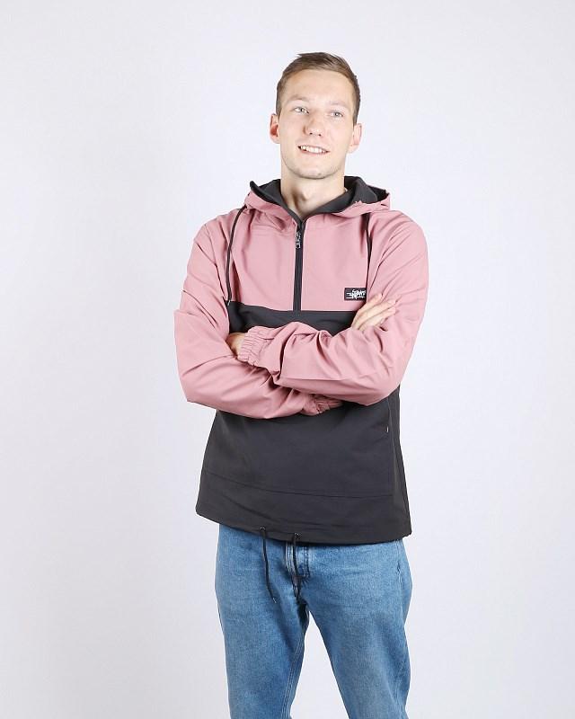 Анорак Anteater cotton-combo_pink