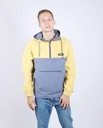 Анорак Anteater cotton-combo_yellow
