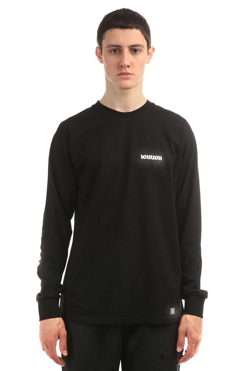 Юнион Свитшот Gothic, цвет черный , 100% хлопок