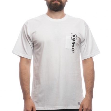 Юнион Футболка Key с карманом, цвет белый, 100% хлопок