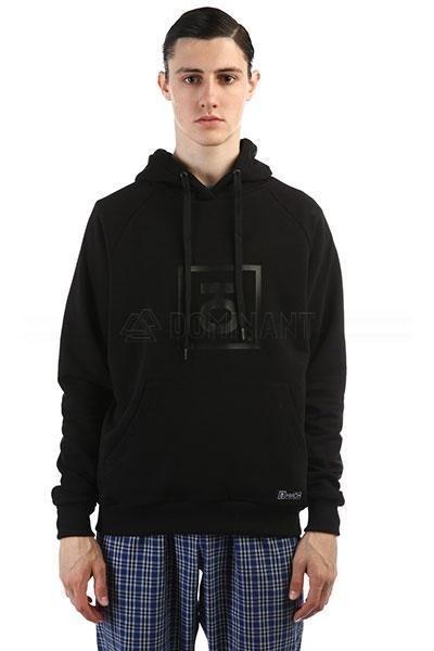 Юнион Худи Logo, цвет черный, 100% хлопок
