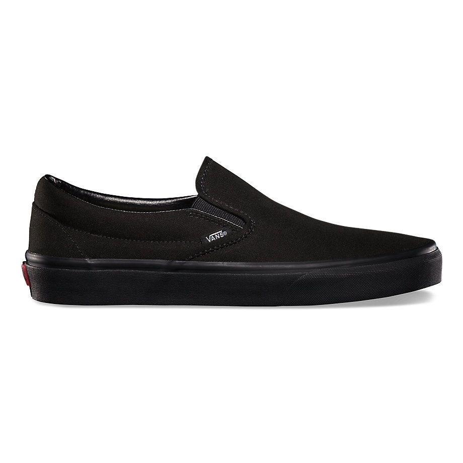 Обувь Vans slip on blk blk VEYEBKA