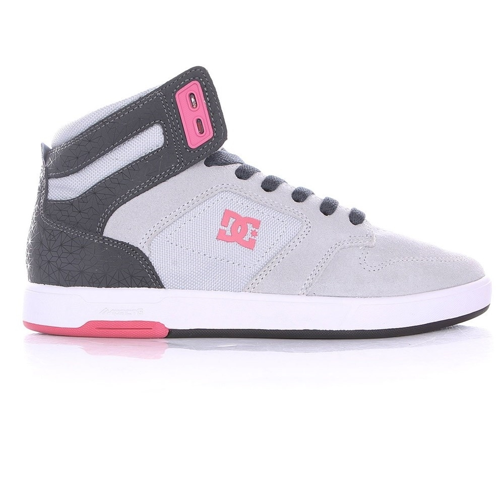 Обувь DC Nyjah grey blk pink