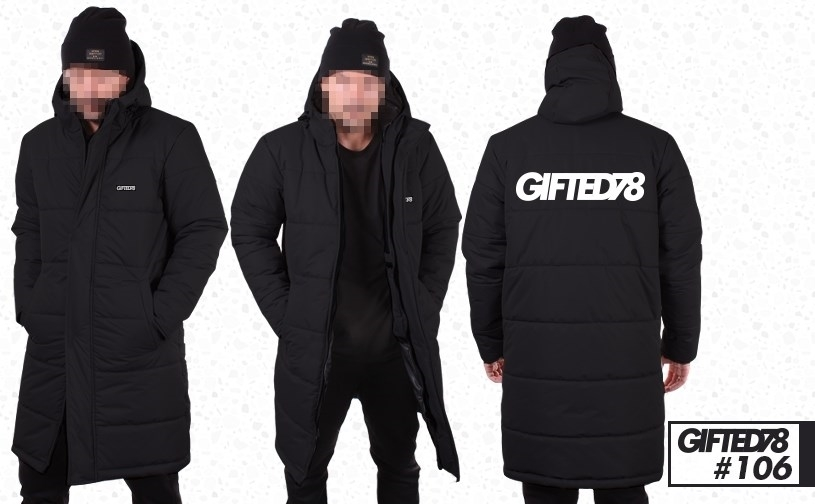 "Куртка ""GIFTED"" Winter18/106 черный"