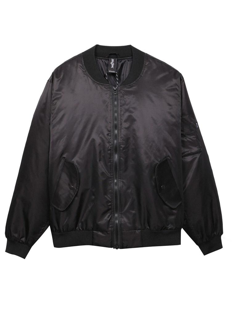 Куртка-бомбер ZIQ & YONI ANGEL SS18 черная