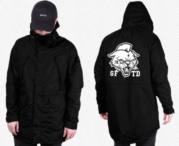 "Куртка ""GIFTED"" SS18/149 черный"
