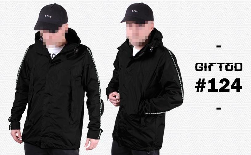 "Куртка ""GIFTED"" SS18/124 черный"