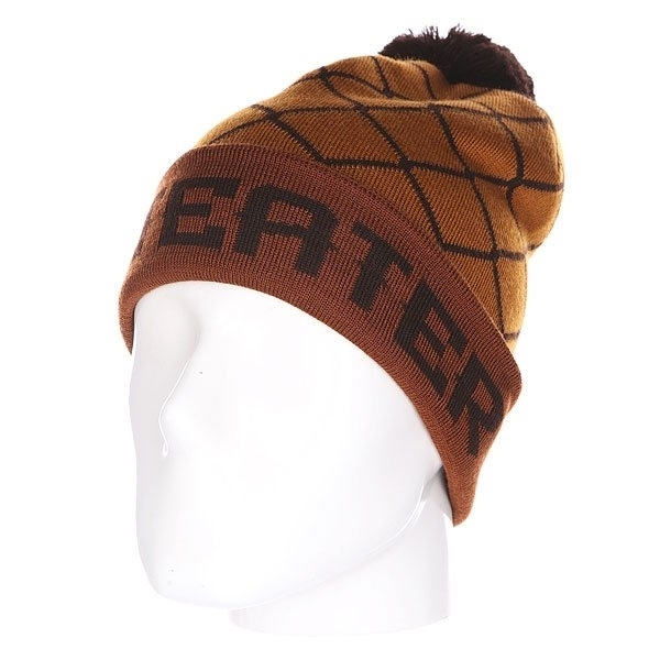Шапка Anteater hatpom-wire_brown