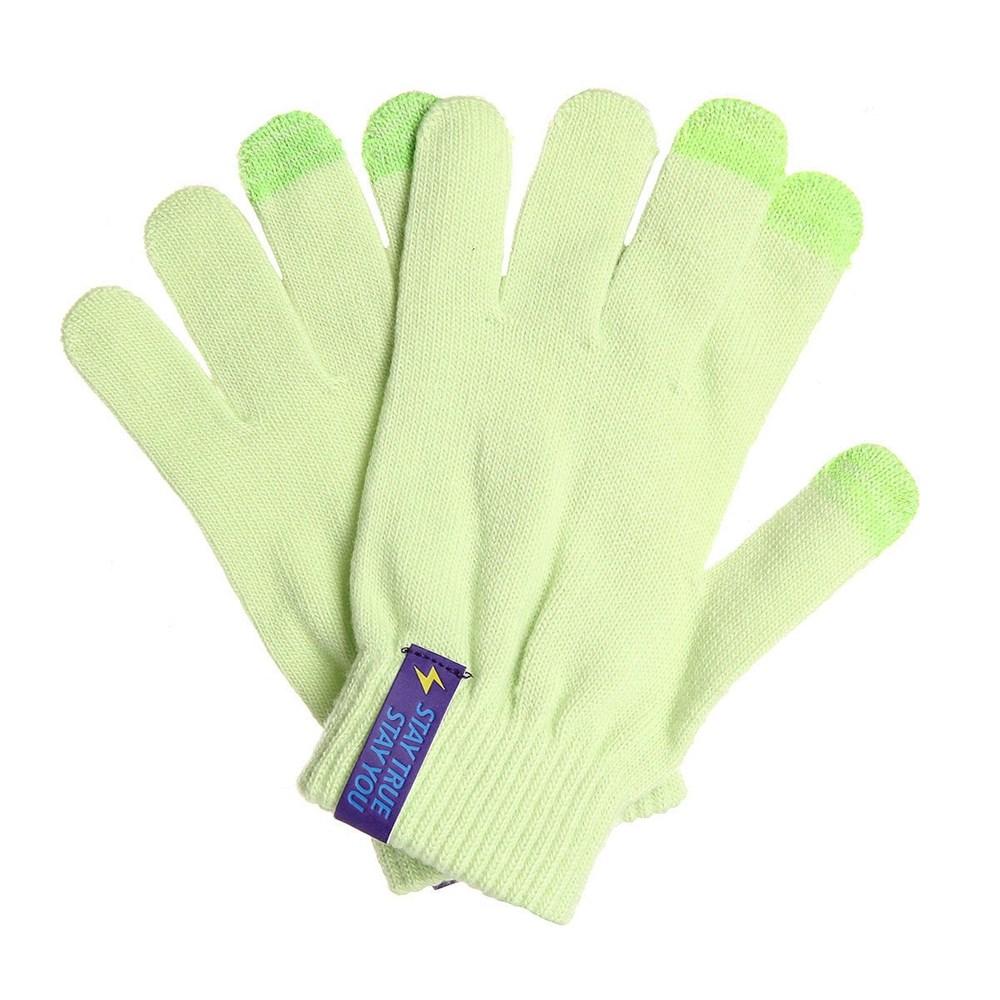 Перчатки TRUESPIN Touch Gloves (Зеленый (Light Green), O/S)