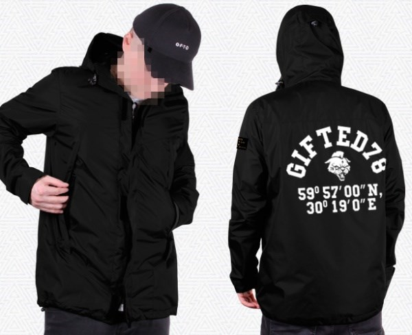 "Куртка ""GIFTED"" SS18/123 черный"