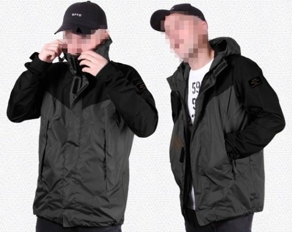 "Куртка ""GIFTED"" SS18/118 черно-серый"