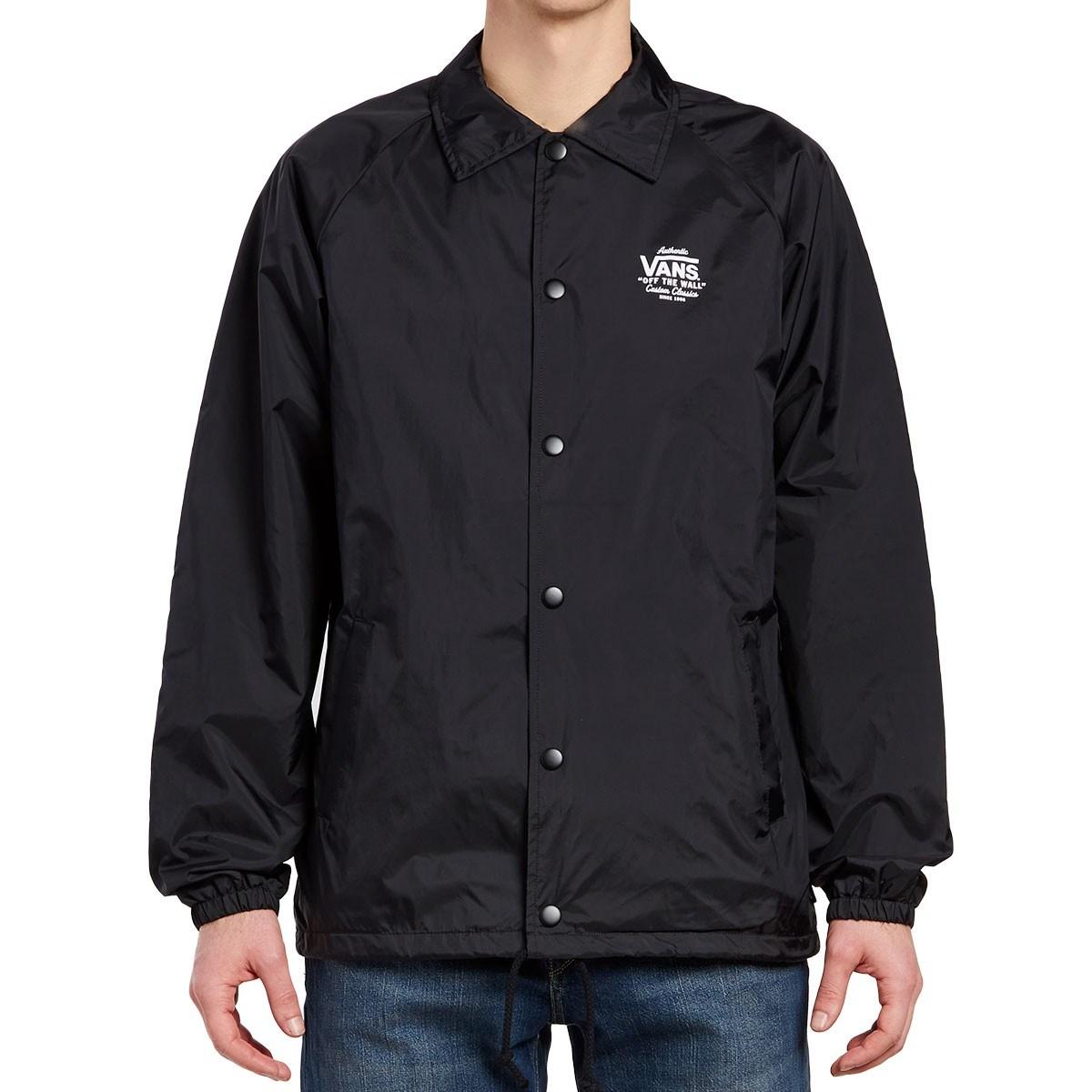 VANS Куртка MN TORREY BLACK-WHITE