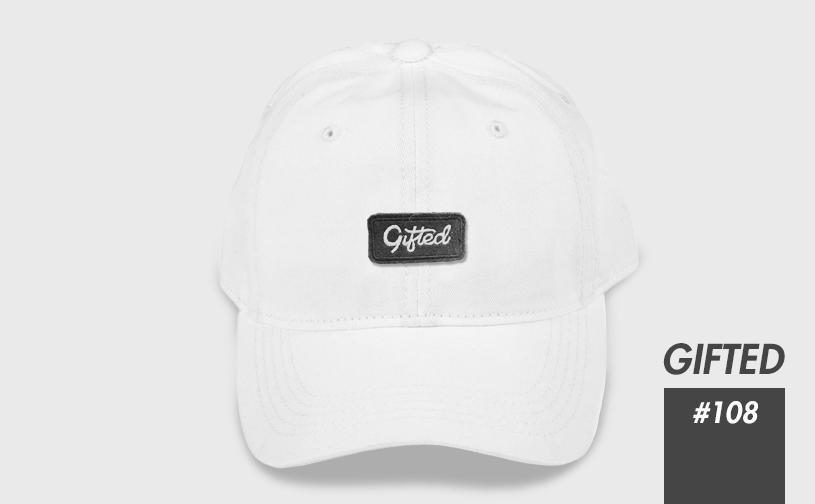 "Бейсболка ""GIFTED"" SS17/108 белый"