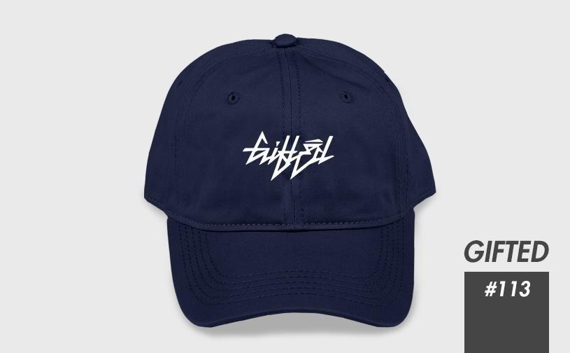 """Бейсболка """"GIFTED"""" SS17/113 синий"""