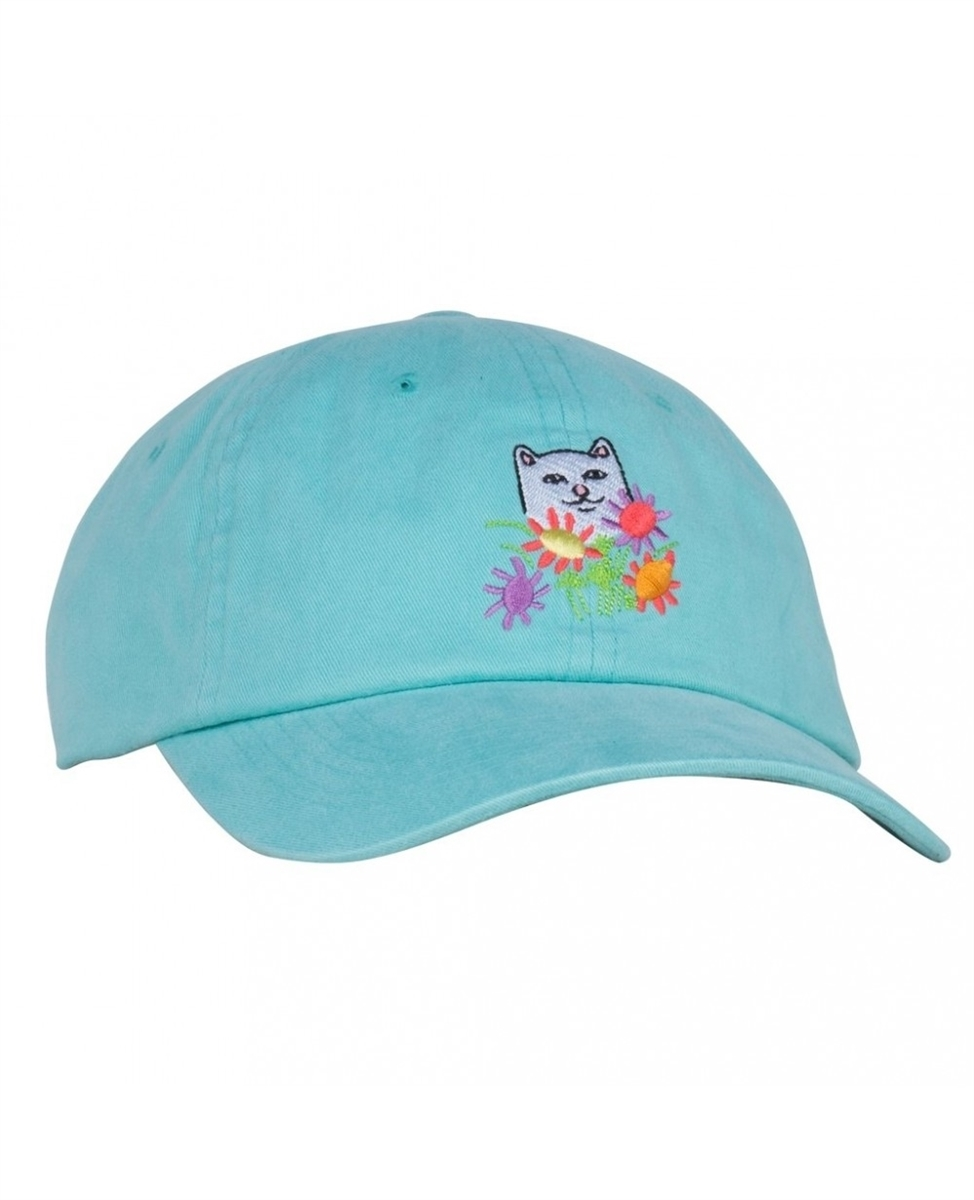 RIPNDIP Кепка Flowers For Bae Dad Hat Mint