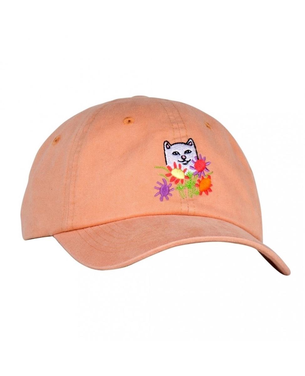 RIPNDIP Кепка Flowers For Bae Dad Hat Orange