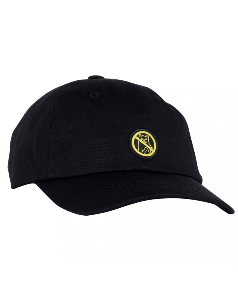 RIPNDIP Кепка Hooked Dad Hat Black