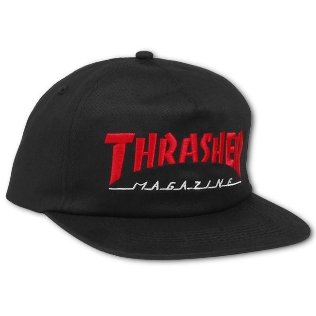 Бейсболка THRASHER MAGAZINE LOGO TWO-TONE HAT white/red