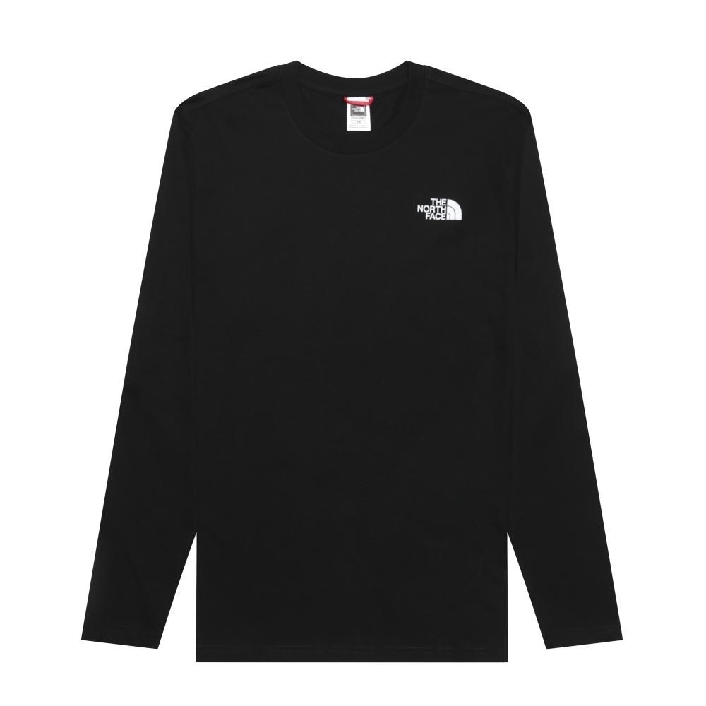Футболка THENORTHFACE T92TX1JK3 M L/S EASY TEE TNF BLACK