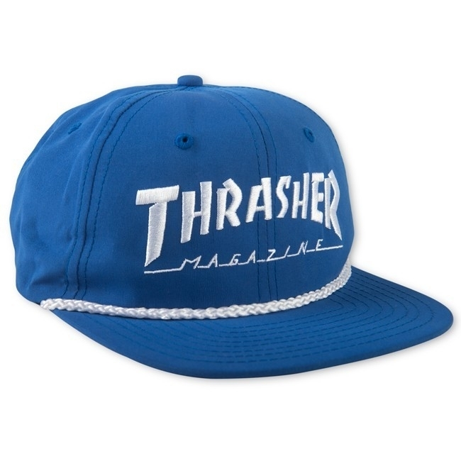 Кепка Thrasher rope snapback blue