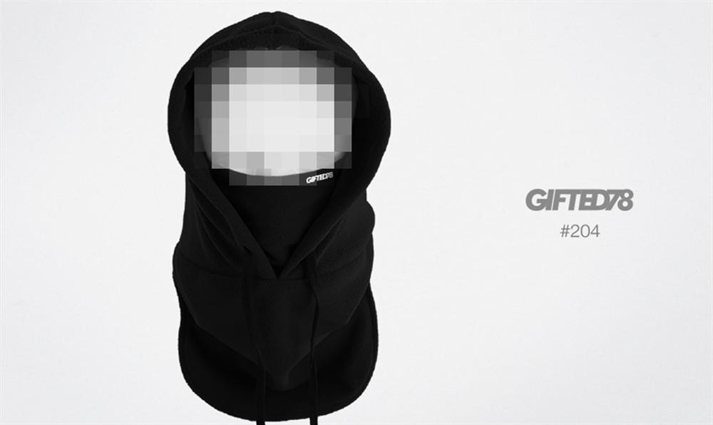 "Капюшон ""GIFTED"" knitfleece18/204"