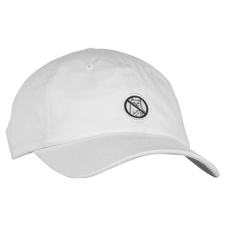 RIPNDIP Кепка Hooked Dad Hat White
