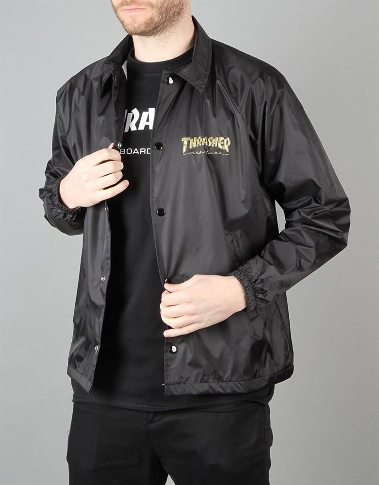 Куртка THRASHER PENTAGRAM COACH JACKET black