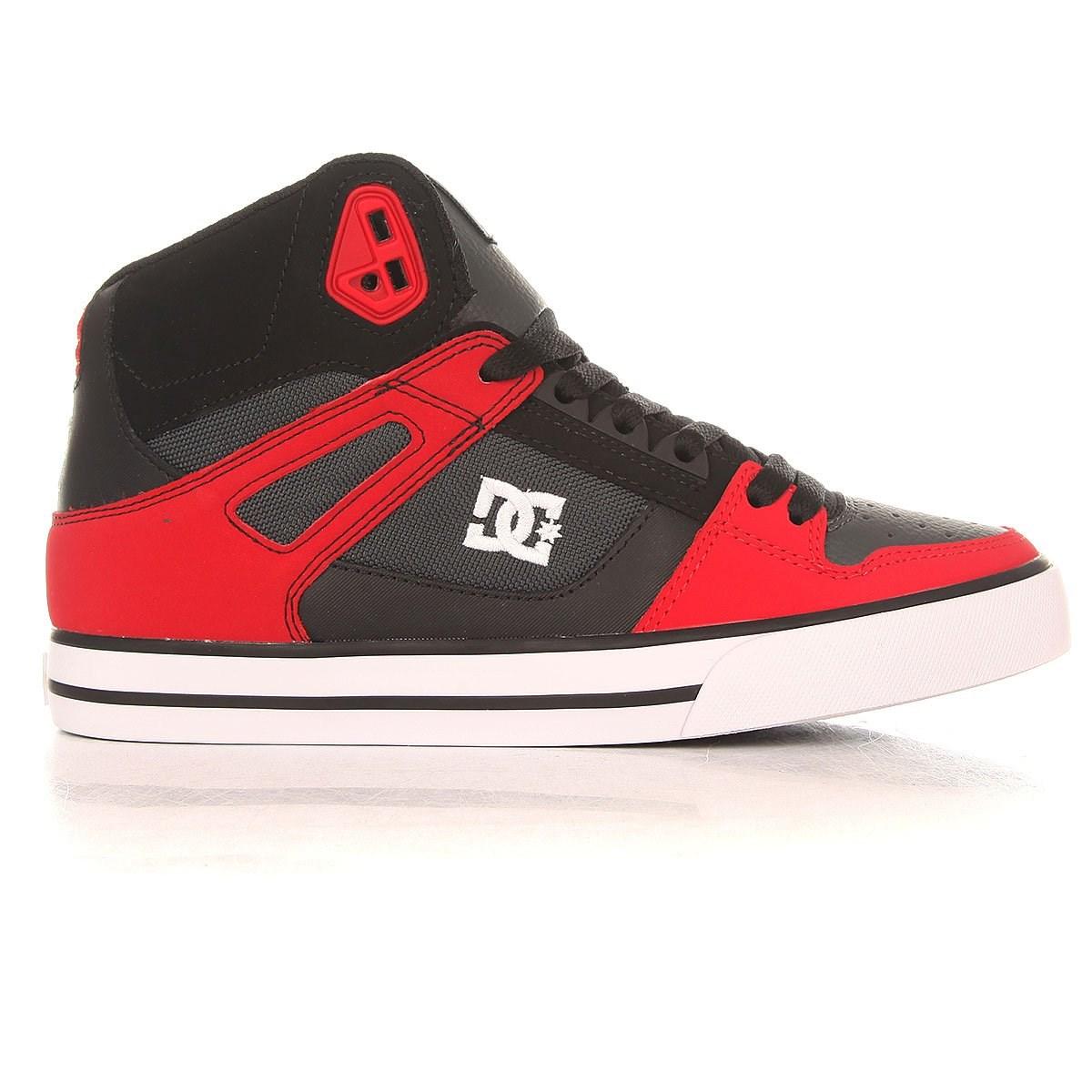 Обувь DC Spartan red grey black