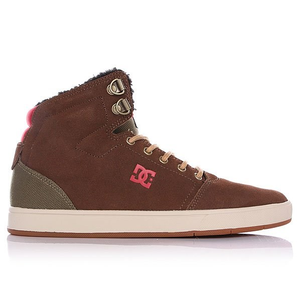 Обувь DC Crisis high Chocolate green