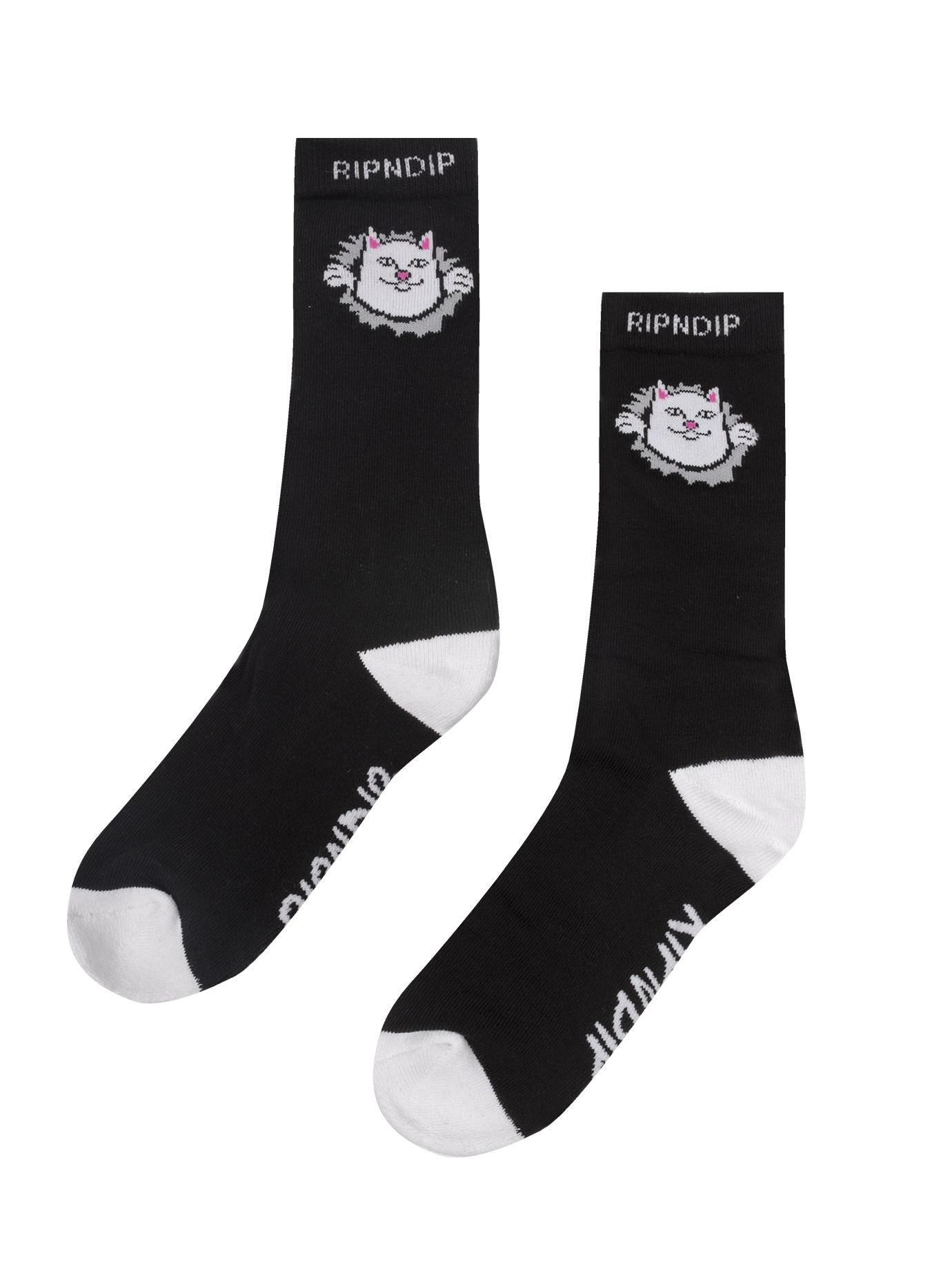 RIPNDIP Носки Nermamaniac Socks Black