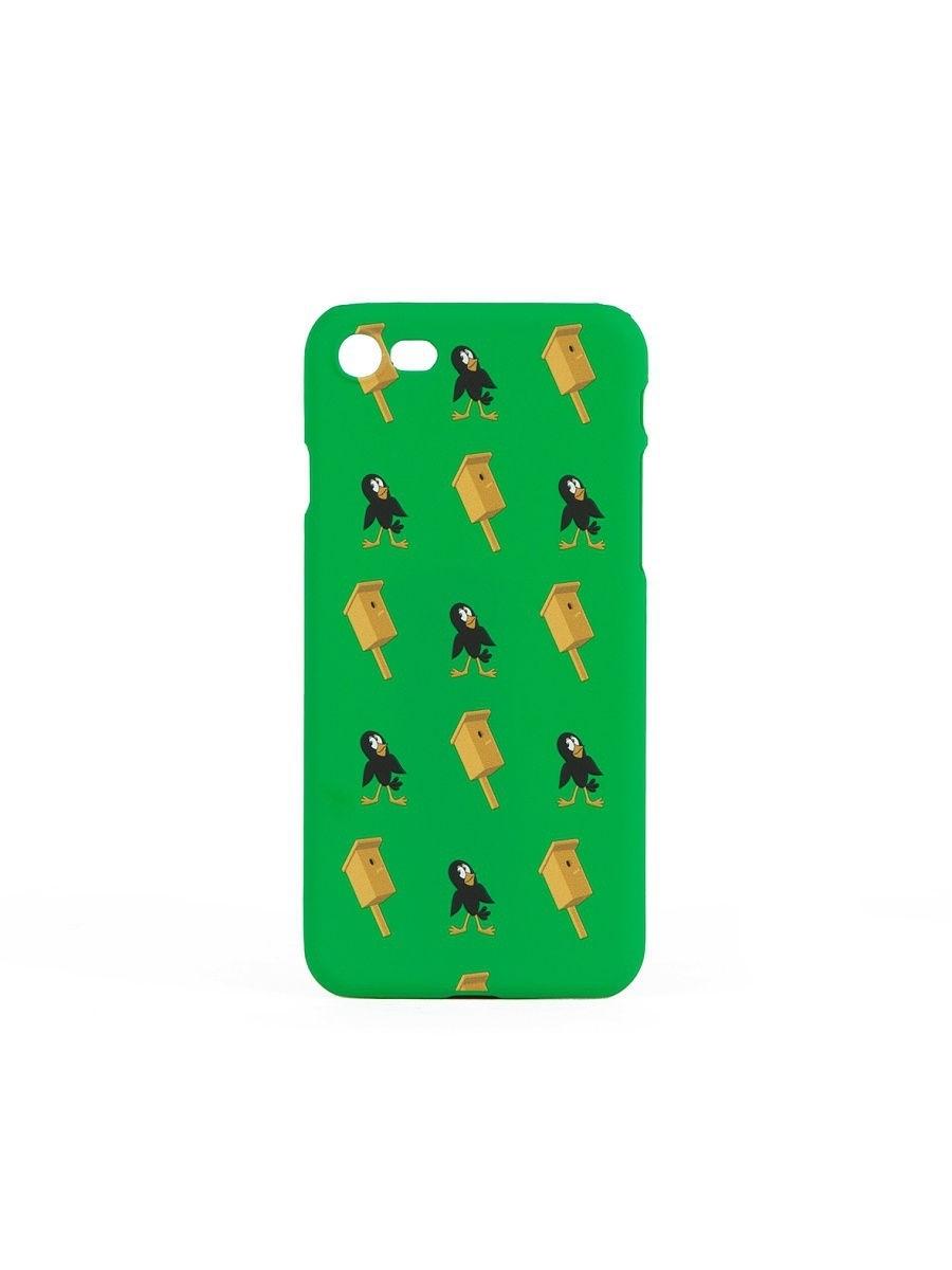 Чехол ЗАПОРОЖЕЦ Простоквашино Скворец (Зеленый (Зеленый, iPhone 6+))
