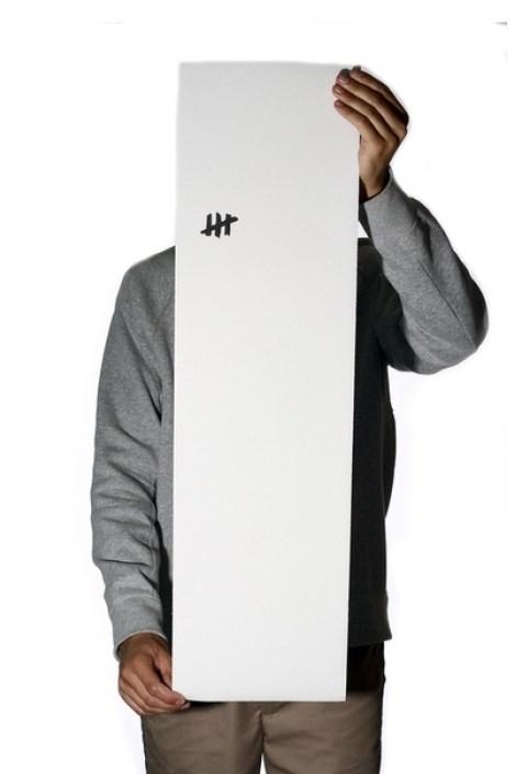 Гриптейп Slackers для скейта прозрачный с черным минилого
