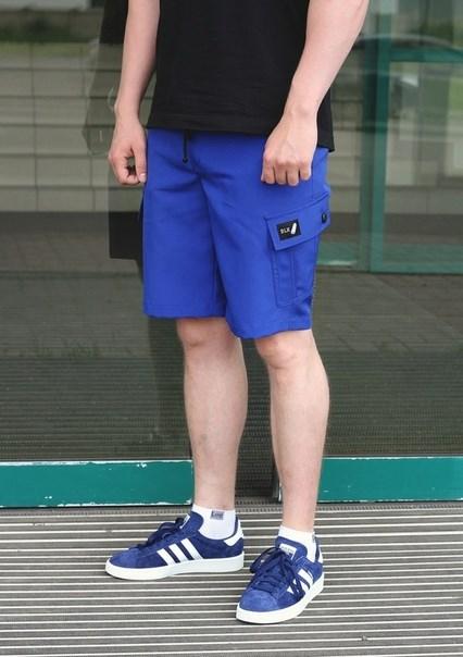 Blk Crown шорты Summer light neon blue