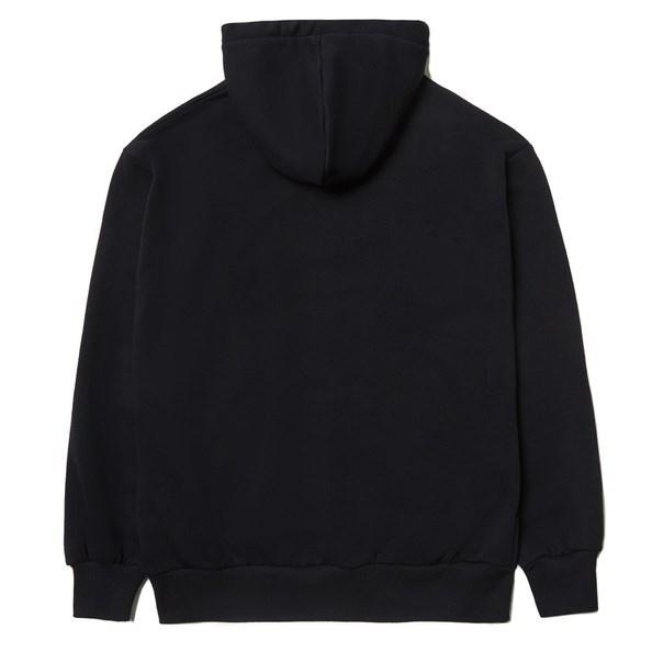 Толстовка с двойным капюшоном ZIQ & YONI x КИНО черная - фото 10164