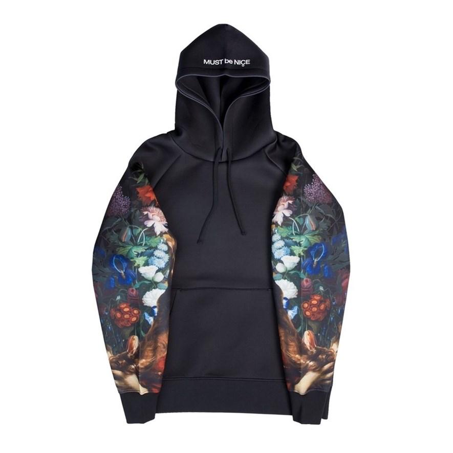 Толстовка RIPNDIP Bouquet Pullover Sweater black - фото 10288