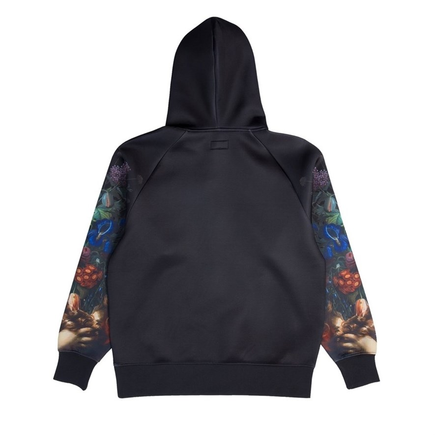 Толстовка RIPNDIP Bouquet Pullover Sweater black - фото 10289