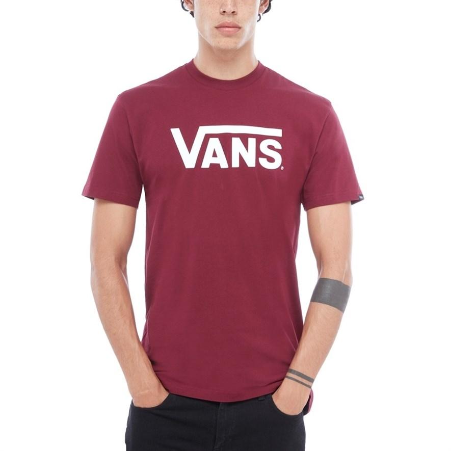 Vans Футболка V00GGGZ28 MN VANS CLASSIC Burgundy/Whi - фото 13783