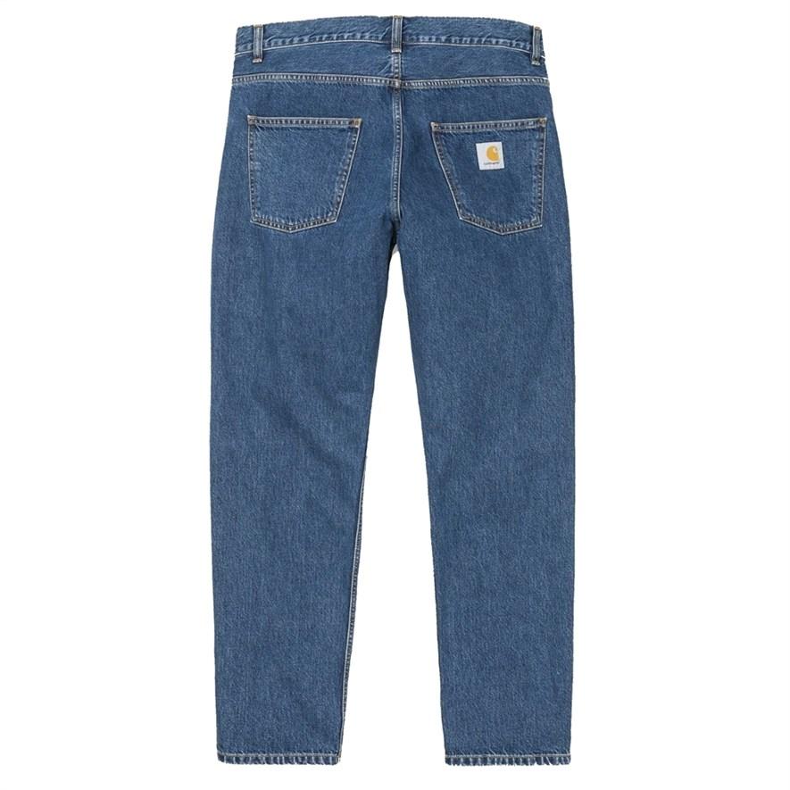 Carhartt Джинсы (Regular) Newel Pant BLUE (STONE WASHED) - фото 15858