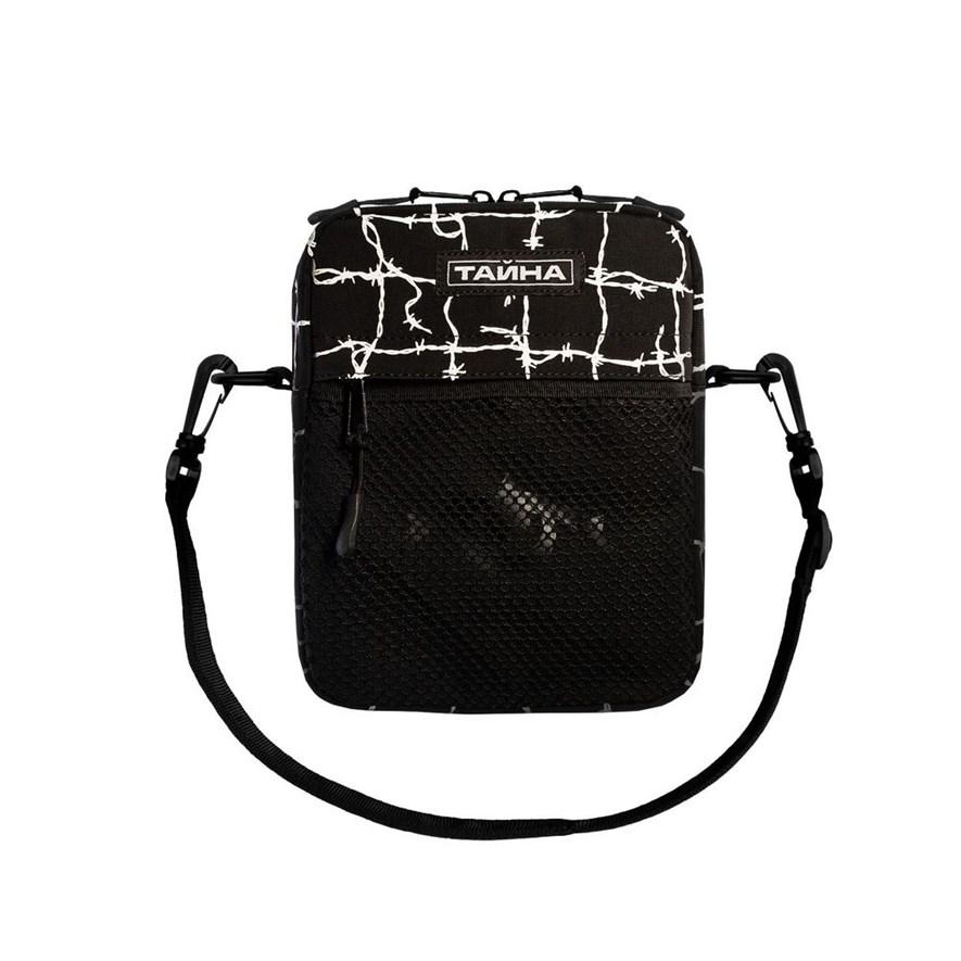 Сумка через плечо ТАЙНА черный/колючка - фото 17861
