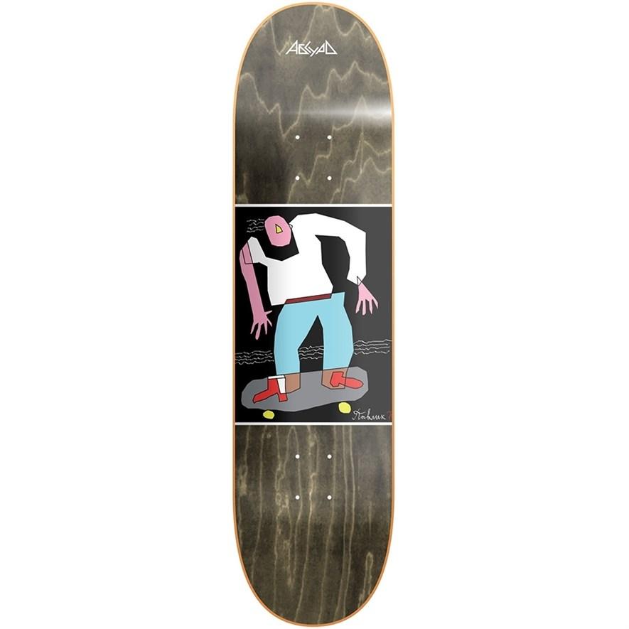 """АБСУРД дека скейтборд PAINT SKEJTER (SS20) (ASSORTED, 8"""") - фото 19268"""