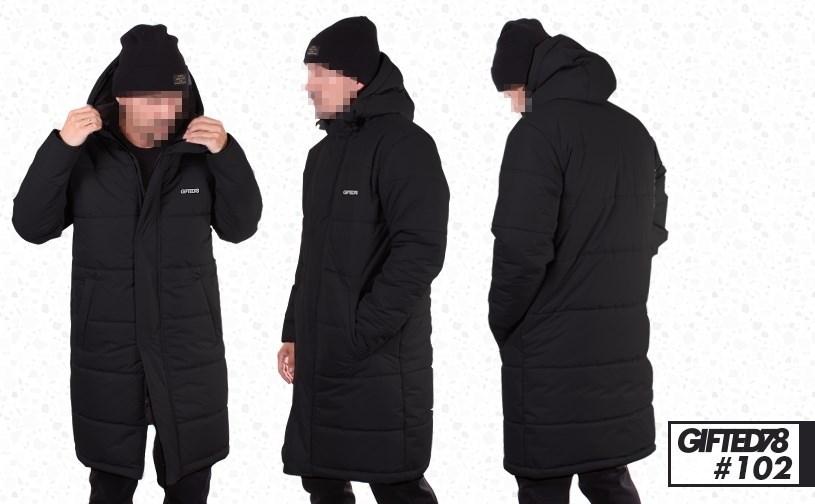 "Куртка ""GIFTED"" Winter18/102 черный - фото 4737"
