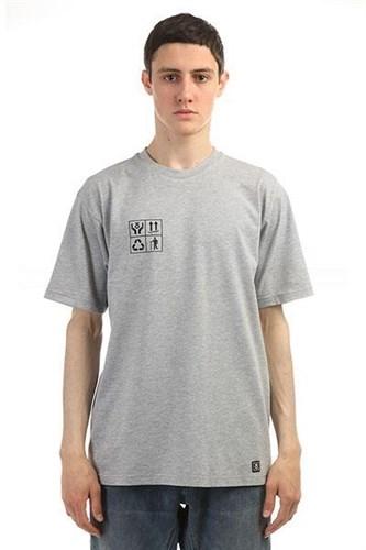 Юнион Футболка Recycle, цвет серый, 100% хлопок - фото 5291