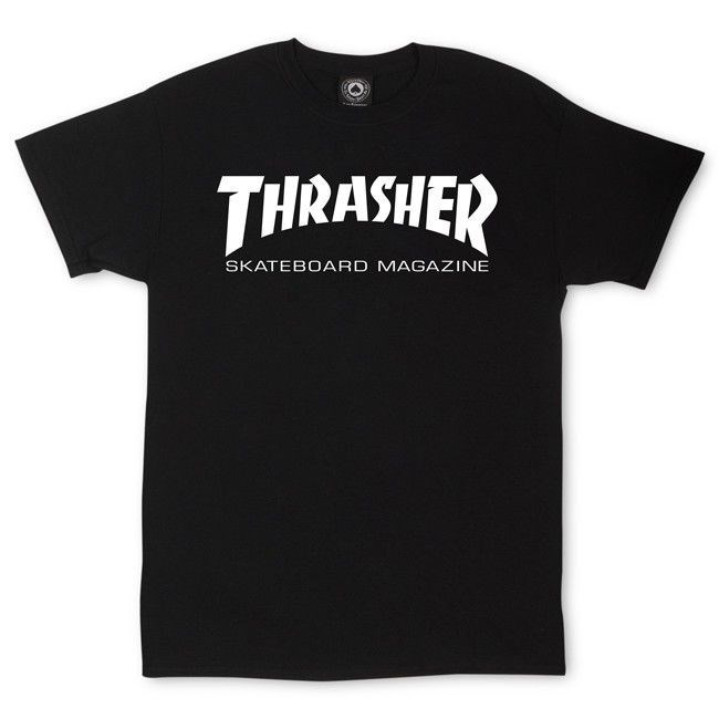 Футболка Thrasher SKATE MAG black - фото 5306