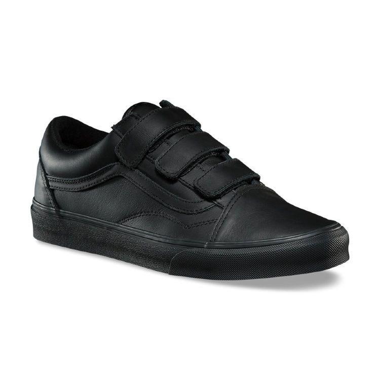Обувь Vans UA OLD SKOOL V (MONO LEATHE - фото 6031