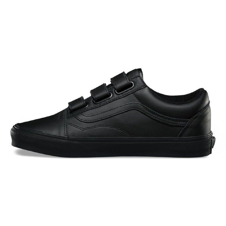 Обувь Vans UA OLD SKOOL V (MONO LEATHE - фото 6032