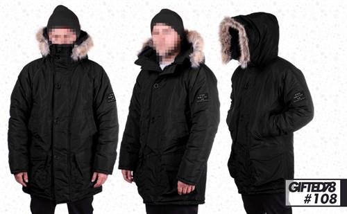 "Куртка ""GIFTED"" Winter18/108 черный - фото 6157"
