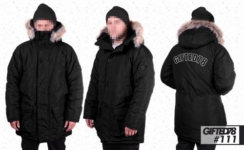 "Куртка ""GIFTED"" Winter18/111 черный - фото 6162"
